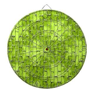 Iriserende Groene Bakstenen Dartbord