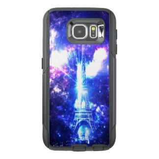 Iriserende Parijse Hemel OtterBox Samsung Galaxy S6 Hoesje