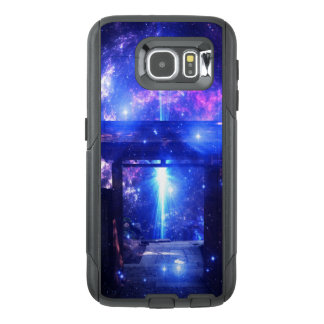 Iriserende Weg aan overal OtterBox Samsung Galaxy S6 Hoesje