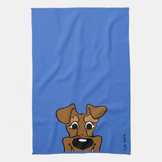 Irish Terrier Smile Theedoek