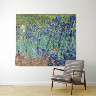 Irissen door de Kunst van Vincent van Gogh Wandkleed