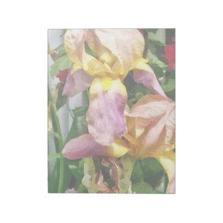 Irissen door de Omheining van het Piket Notitieblok