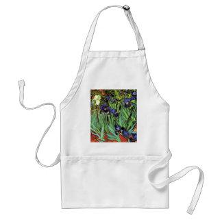 Irissen door Van Gogh Fine Art. Standaard Schort