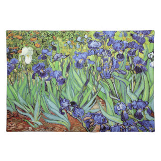Irissen door Vincent van Gogh Placemat