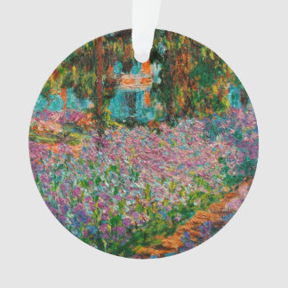 Irissen in Giverny Claude Monet Ornament