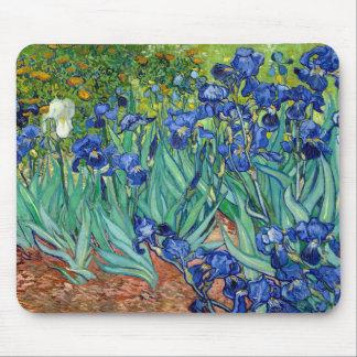 Irissen Vincent van Gogh die Mousepad schilderen Muismat