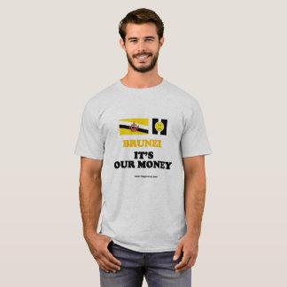Is de basist-shirt BRUNEI, IT van het mannen ONS T Shirt