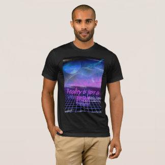 is de de jaren '80 Esthetische werkelijkheid enkel T Shirt