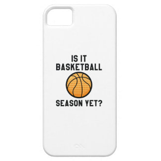 Is het nog het Seizoen van het Basketbal? Barely There iPhone 5 Hoesje