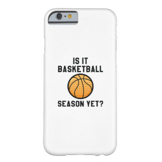 Is het nog het Seizoen van het Basketbal? Barely There iPhone 6 Hoesje