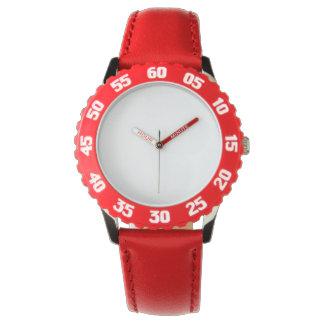 Is het Rode Horloge van het Roestvrij staal van