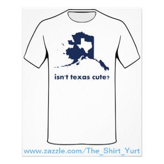 Is Leuk geen Texas In vergelijking met Alaska Flyer 11,4 X 14,2 Cm