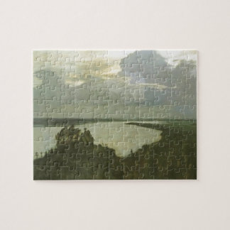 Isaac Levitan- 'boven eeuwige tranquility Puzzel