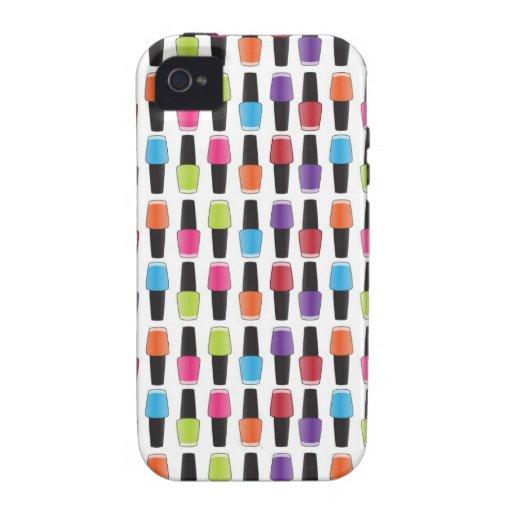 Het patroon van het nagellak Case-Mate iPhone 4 case