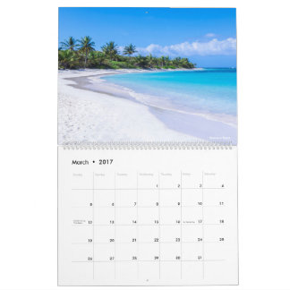 Isla Culebra 12 maandkalender Kalender