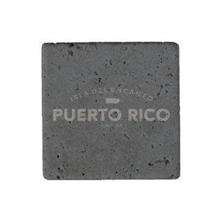 Isla del Encanto, de Kaart van Puerto Rico Stenen Magneet