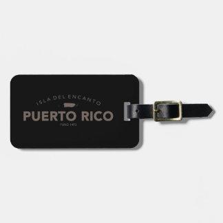 Isla del Encanto, Puerto Rico Bagagelabel