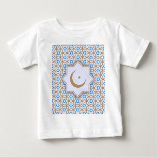 Islamitisch geometrisch patroon baby t shirts