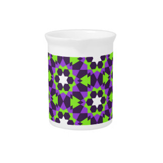 Islamitisch geometrisch patroon bier pitcher