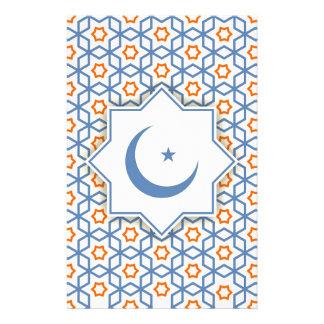 Islamitisch geometrisch patroon briefpapier