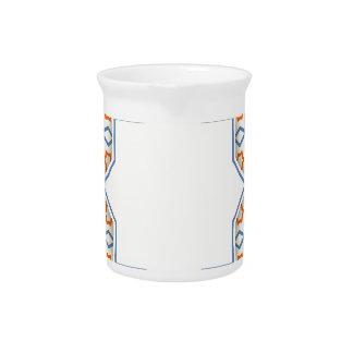 Islamitisch geometrisch patroon drink pitcher
