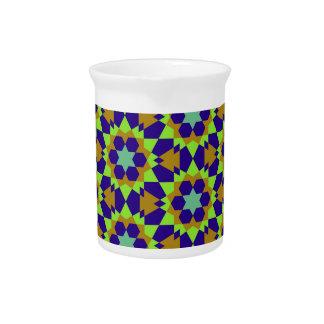 Islamitisch geometrisch patroon pitcher