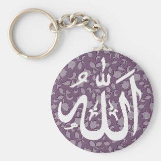 Islamitische decoratief van Allah Sleutelhanger