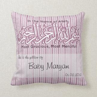 Islamitische het babynaam Aqiqah moslim van Sierkussen