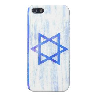 Israël verontrustte Israëlische vlag iPhone 5 Covers