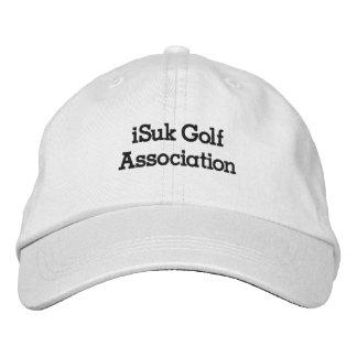 iSuk het Pet van de Vereniging van het Golf Geborduurde Pet