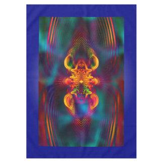 IT is MAGISCHE Apopphysis Fractal II + uw idee Tafelkleed