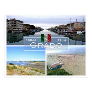 IT Italië - Friuli Venezia Giulia - Grado - Briefkaart