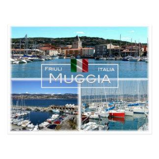IT Italië - Friuli Venezia Giulia - Muggia - Briefkaart