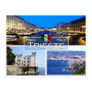 IT Italië - Friuli Venezia Giulia - Triëst - Briefkaart