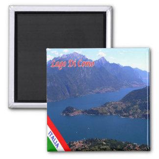 IT - Italië - Meer Como - Panorama Magneet