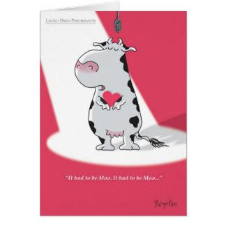 IT MOEST MOO Valentijnskaarten ZIJN door Boynton Kaart