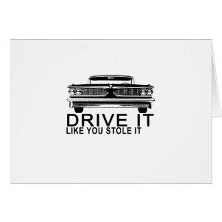 IT van DRIVE ALS U STAL IT.png Briefkaarten 0