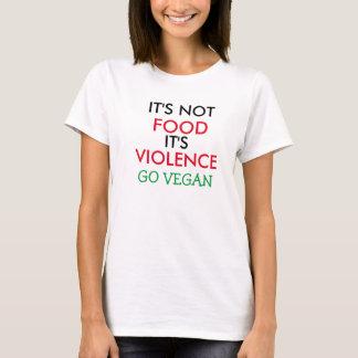 IT van het Overhemd van de veganist is Geen IT van T Shirt