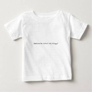 Italiaans-dorp Baby T Shirts
