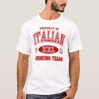 Italiaans Drinkd Team T Shirt