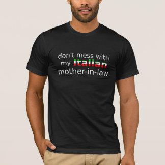 Italiaanse (donkere) schoonmoeder t shirt