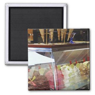 Italiaanse gelato in vitrine magneet