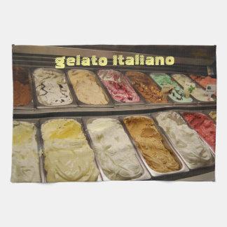 Italiaanse Gelato Keuken Handdoek