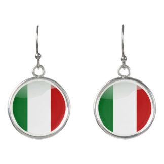 Italiaanse glanzende vlag