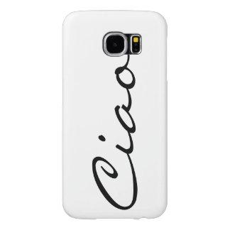 Italiaanse grappige hipster trendy modern van Ciao Samsung Galaxy S6 Hoesje