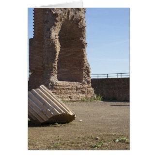Italiaanse kaarten, Domitianic Baden Rome Kaart
