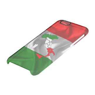 Italiaanse laars doorzichtig iPhone 6/6S hoesje