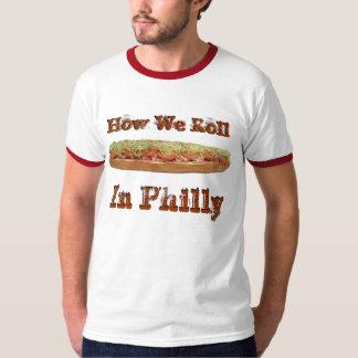 Italiaanse sandwich: Hoe wij in T-shirt Philly