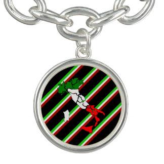 Italiaanse strepenvlag armbandjes