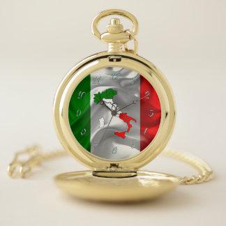 Italiaanse Tricolor Zakhorloge